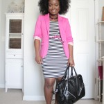 Outfit: Pop of Pink