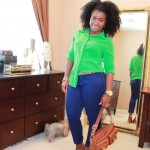 Outfit: I Love Color Blocking!