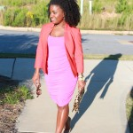 Outfit: Orange, Pink, and Leopard