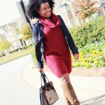 Outfit: Oxblood and Navy