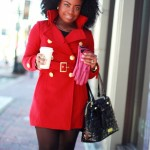 Outfit: The Red Coat, a Giveaway, and a Collaboration