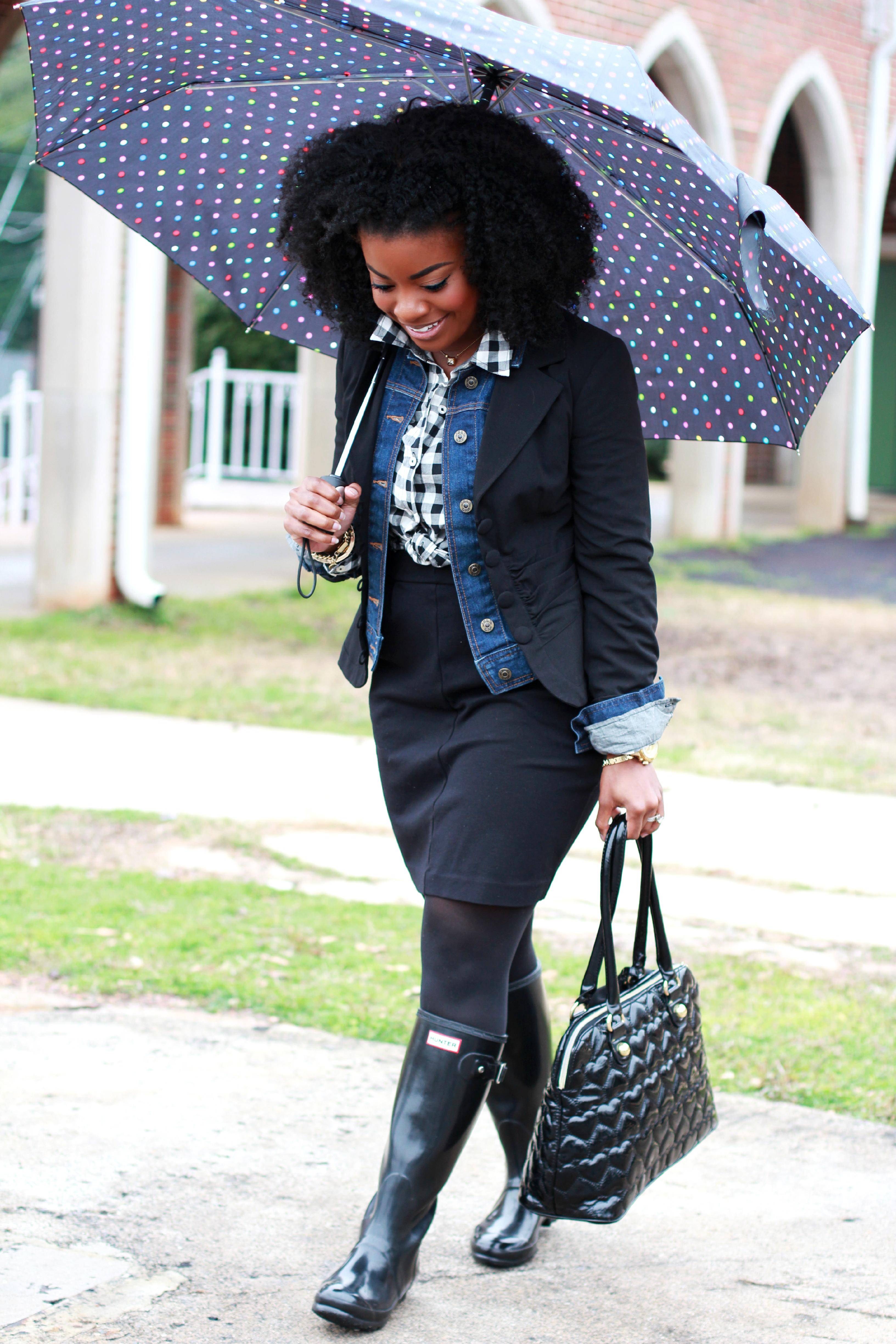 Outfit Rain Rain Go Away The Serena Saga