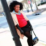 Outfit: Red Winter Layers