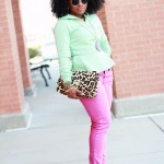 Outfit: Minty Pink
