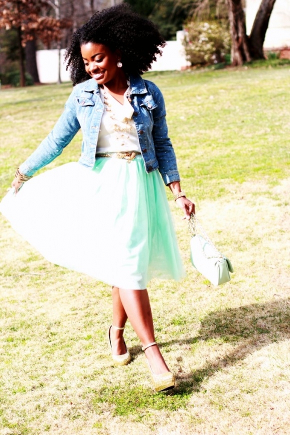 The Serena Saga Tulle Skirt 6