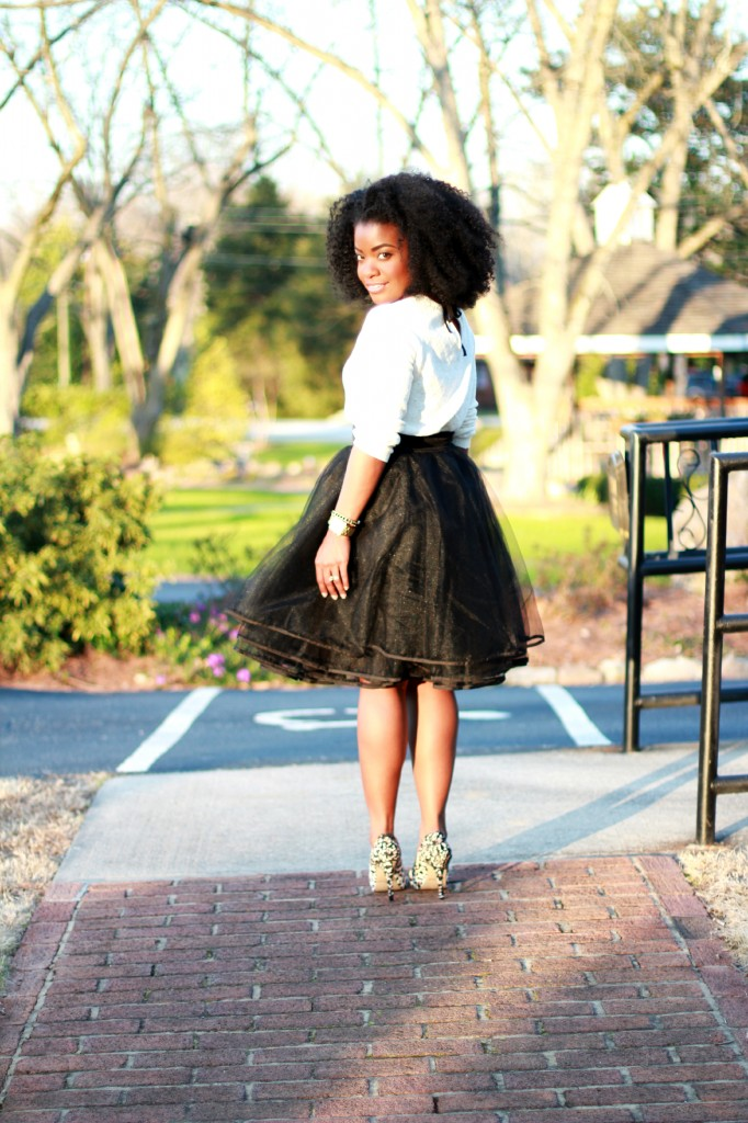 The Serena Saga Black Tulle skirt 7