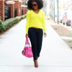 Outfit: Casual Friday Neon and Pink