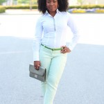 Outfit: Minty Green