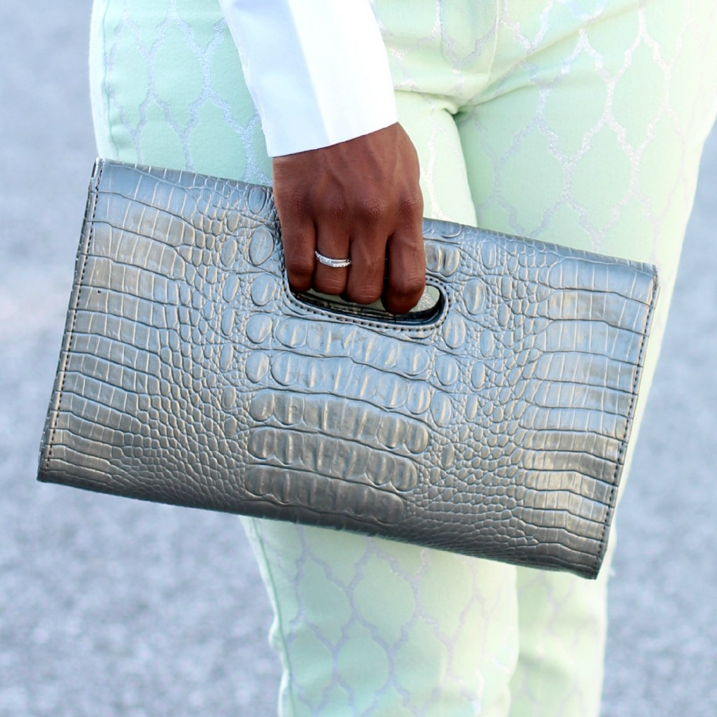 The Serena Saga Mint Green Pants square