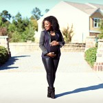 Maternity Outfit: Liquid Leggings