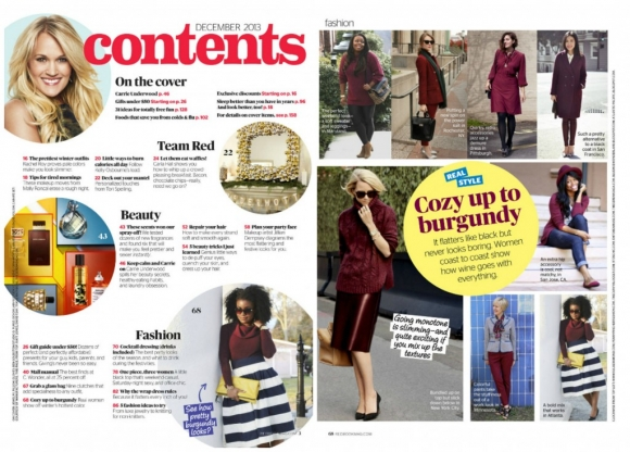 Redbook Magazine Feature Collage