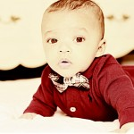 Baby Outfit: Baby in Red