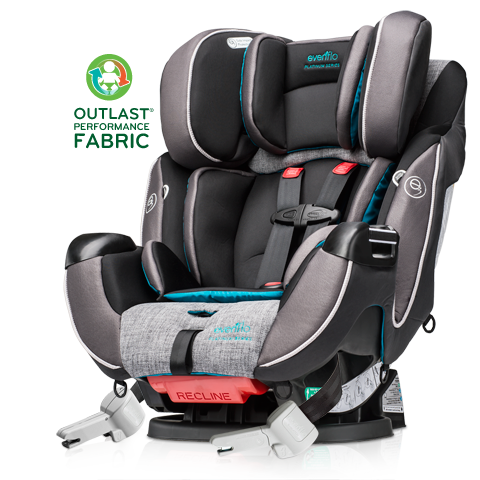 best car seat ever the evenflo platinum symphony dlx the serena saga. Black Bedroom Furniture Sets. Home Design Ideas