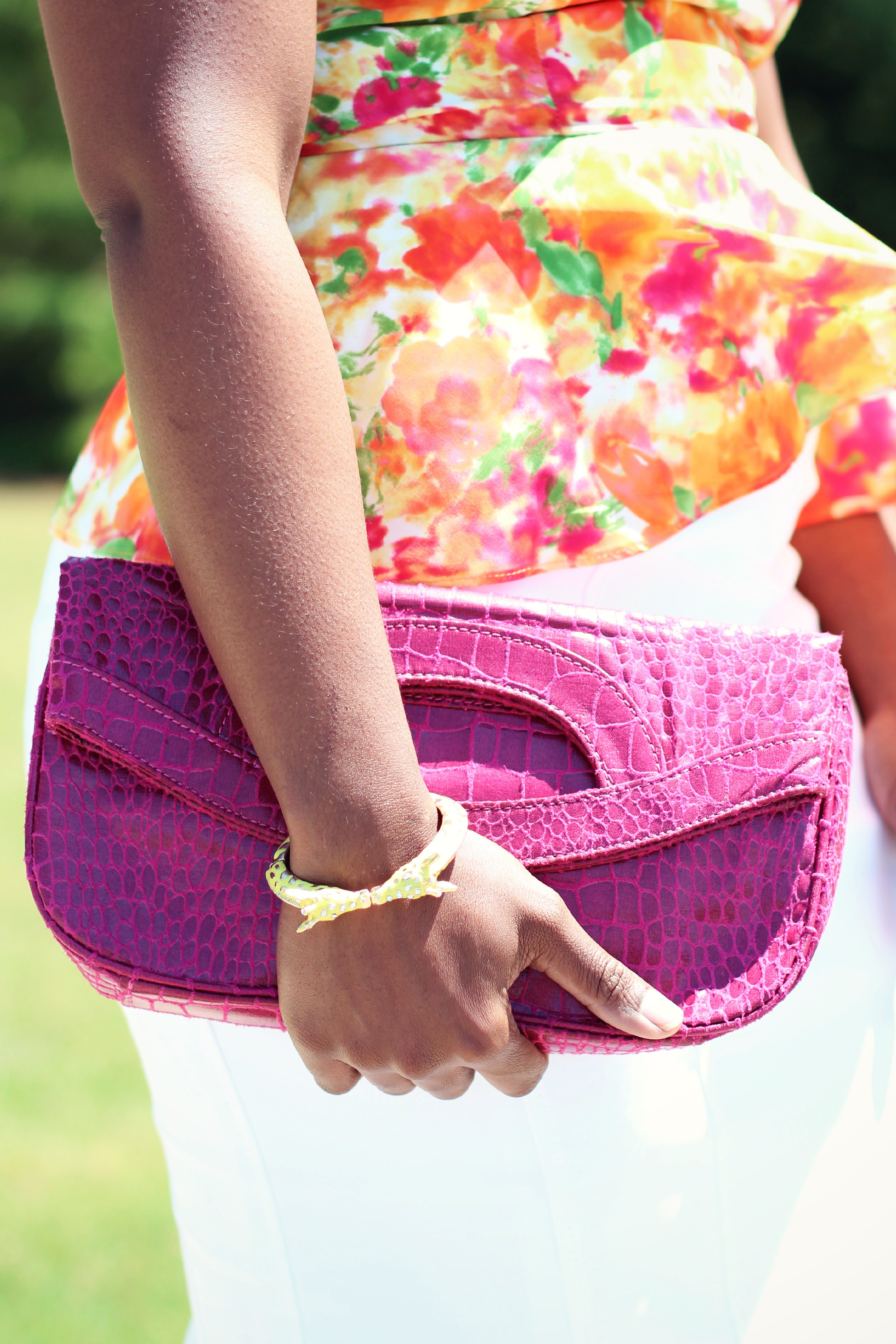 a448222461 Outfit  Floral Peplum - The Serena Saga